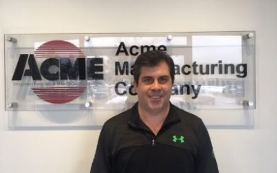 Mike Lamb appointed Customer Service and Parts Sales Manager after Bob Swanson Retires from Acme Manufacturing Company