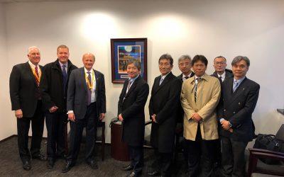FANUC Executive Team meets with Acme and tours the Auburn Hills, MI Facility