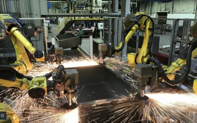 Case Study: Adaptive Robotic Material Removal Solution for an Enclosure Manufacturer