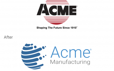 Acme Manufacturing Unveils New Logo and Branding to Match Innovative Focus