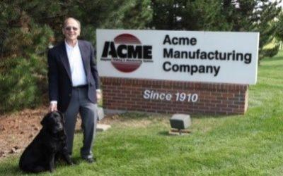 Glen Carlson Jr. Retired Chairman Emeritus  of Acme Manufacturing Company Passed Away